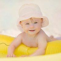 Bebés lactantes al sol: ¡ni pensarlo!