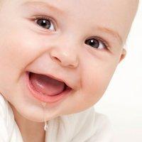 El babeo de los bebés