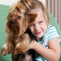 Mejor perros que gatos para la piel de los niños
