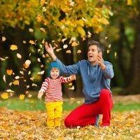 El otoño llama a la puerta de los niños. ¡A disfrutar!