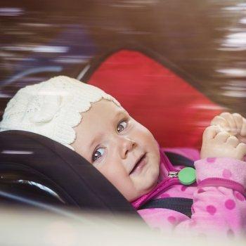La seguridad de los niños en el coche