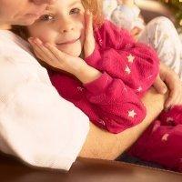 Padres separados en Navidad