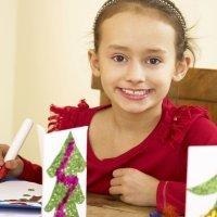 Ideas para felicitar la Navidad con los niños