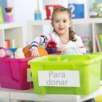 Donemos los juguetes con los que los niños ya no juegan