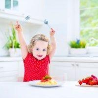 Cómo hacer para que los niños coman de todo