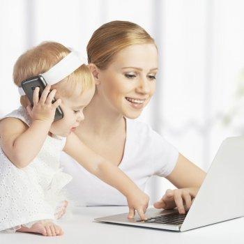 El reto de ser madre y trabajadora