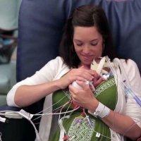La emocionante lucha de un bebé prematuro por sobrevivir