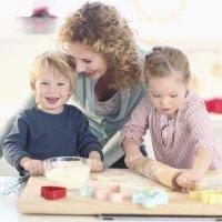 Qué aprenden los niños en la cocina