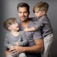 La tierna explicación de Ricky Martin a una difícil pregunta de su hijo