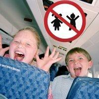 Prohibido niños. La niñofobia llega a los transportes