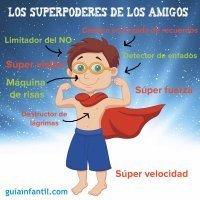 Los superpoderes de los amigos