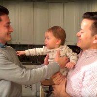 Cómo puede el bebé reconocer a su papá si tiene un gemelo