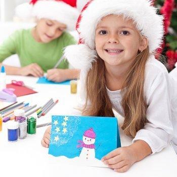 Manualidades y adornos navide os para hacer con los ni os - Adornos de navidad para hacer con ninos ...