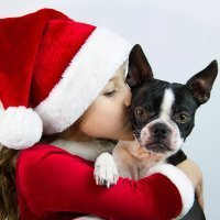 Cuando el regalo de Navidad del niño es una mascota