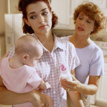 Los consejos a una madre primeriza