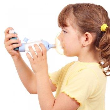 El asma de los niños en el colegio
