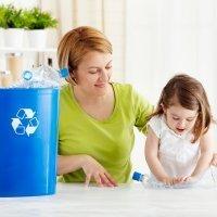 Los niños aprenden a reciclar en el Día Mundial del Reciclaje
