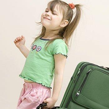 La maleta para el campamento
