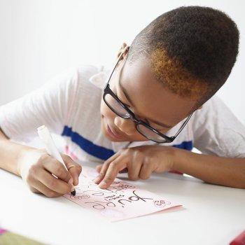 La escritura puede corregir malos comportamientos de los niños