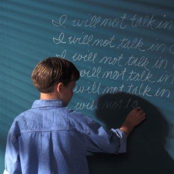 Cómo se castiga a los niños en los colegios