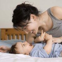 Un bebé que habla 'por los codos'