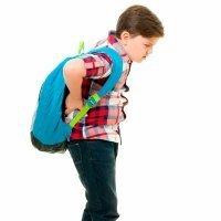 El peso de la mochila de nuestros hijos