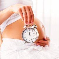 Así son los últimos días de embarazo