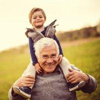 La herencia de los abuelos a los nietos