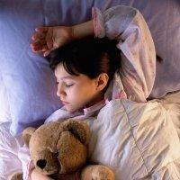 La forma de dormir de los niños