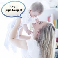 Por qué las madres confunden los nombres de los hijos
