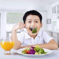 Peligros de la dieta vegana para niños