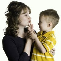 Los besos de mamá pueden curar y remediar todo