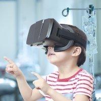 Realidad virtual para alejar el miedo de los niños en el hospital