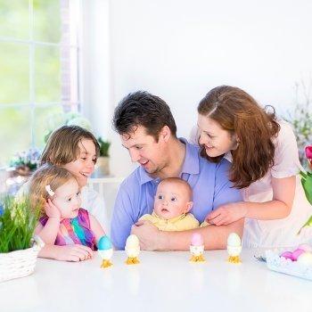 Planes con niños en Pascua