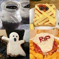 Aperitivos y postres para la fiesta de Halloween de los niños