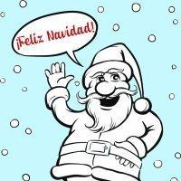 Frases de Navidad con dibujos para colorear e imprimir