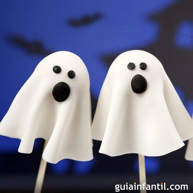 Ideas para hacer cake pops de Halloween a los niños