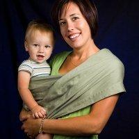 Ideas para llevar al bebé en brazos