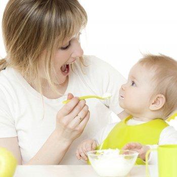 Papillas de fruta y pur�s de verduras y carnes para el beb�