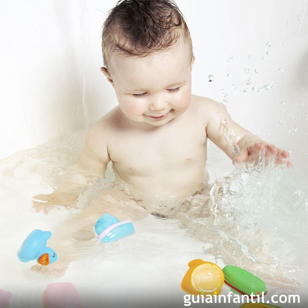 Juegos De Limpiar Baños:Jugar con la ducha durante el baño – Juegos para el baño del bebé