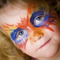 Maquillaje de máscaras para niños