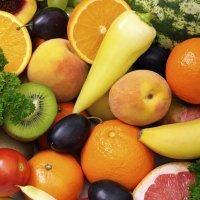 Dibujos para colorear de frutas