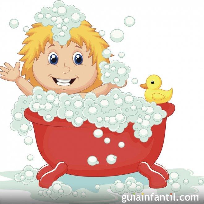 Dibujos animados de bañarse - Imagui