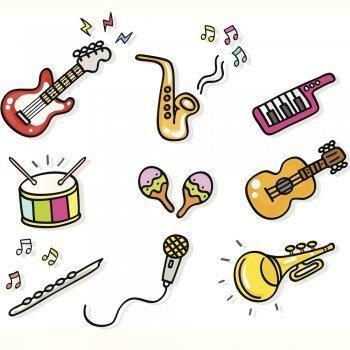Dibujos de instrumentos musicales