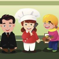 Dibujos para colorear de oficios y profesiones