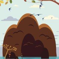Dibujos para colorear de la montaña