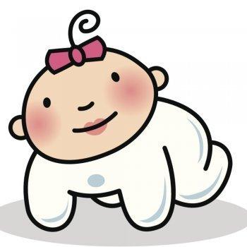 Dibujos para colorear de bebés
