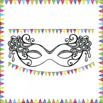 Dibujos de Carnaval para imprimir
