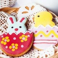 Ideas para decorar galletas de Pascua