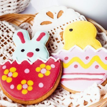 Decorar galletas de Pascua